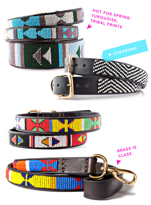 Tribal Beaded Collars by the Kenyan Collection